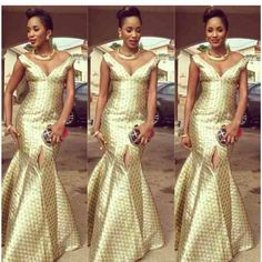 Subira Wahure Official African Couture Blog: AFRICAN FASHION LONG DRESSES