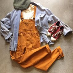 """90's Deadstock San Jose Blue Jean Co. Amber Overalls. Ladies size small. $64+$16(shipping) domestic. Converse USA Brick Red Denim Chucks. Size 7. $48+$16(shipping) & Distressed French Workwear Jacket Size M/L (28""""x24""""). $84+$14(shipping) domestic. Contact the shop at 415-796-2398 to purchase by phone or PayPal afterlifeboutique@gmail and reference item in post."""