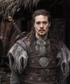 "Alexander Dreymon as  Uhtred of Bebbanburg in ""The Last Kingdom"" Season 1 http://www.imdb.com/title/tt4179452 From http://images.spoilertv.com/The%20Last%20Kingdom/Season%201"