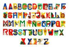 Dit leuke en kleurrijke packege van 4 puzzels, die het is gemaakt van esdoorn hout (uit duurzame bossen) en bevat 4 letters zoals u meng ze door te kiezen uit het aanbod beschikbaar op de 2e foto.  Geschatte grootte van elke puzzel: 6 x 6cm / 6 x 5 cm  Elk stukje het is handgemaakt en het is geschilderd in verschillende kleuren.  Verbeteren van de vaardigheden van uw kind, leer van de kleuren, concentreren en veel plezier met kwaliteit speelgoed.  Neem een kijkje op mijn andere objecten op…