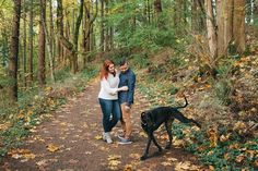 I travel a lot, so I'm always begging friends and family to watch Huckleberry, my two-year-old Lab/Great Dane mix.  A couple of weeks ago, he was staying with a photographer who shoots weddings and engagement photos—and this happened.