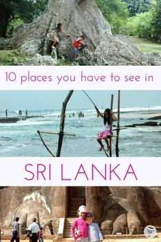 Sri Lanka with Kids: Sri Lanka is an amazing destination for families. Here are 10 places that you must visit in Sri Lanka with children from the ancient citadel of Galle and climbing Lion's Rock to the best places to see elephants and more. I #FamilyTravel