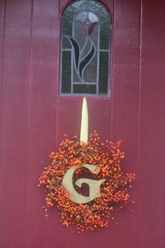 How to Make a Fall Berry Wreath : Factory Direct Craft Blog