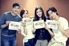 Ji Hyun Woo, Jung Eun Ji and More Attend Script Reading for 'Trot Lovers'