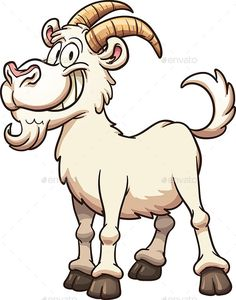GraphicRiver Cartoon Goat 12781885