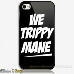 We Trippy Mane drake lil wayne wiz khalifa YMCMB Custom iPhone 5 Hard Case Cover