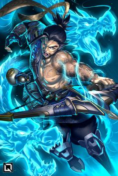 Illustration de Drake Tsui http://www.helpmedias.com/wow.php