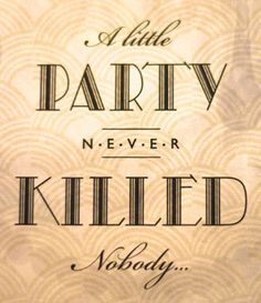 Gatsby Birthday Party Printables by I Heart to Party 30th Party, 30th Birthday Parties, Birthday Party Themes, Great Gatsby Themed Party, 1920 Theme Party, 1930s Party, Speakeasy Party, Roaring 20s Party, A Little Party