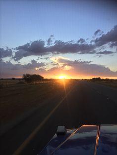 Por do sol Botswana