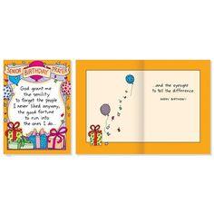 Greeting Card 'Senior Birthday' www.lambertpaint.com
