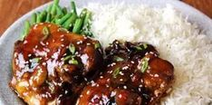 Sweet and Salty Teriyaki Chicken Straight From Your Oven! Baked Teriyaki Chicken, Oven Chicken, Marinated Chicken, Chicken Wings, Baking Recipes, Healthy Recipes, Healthy Foods, Easy Recipes, Teriyaki Marinade