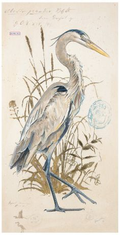 looking for a beautiful great blue heron artwork...