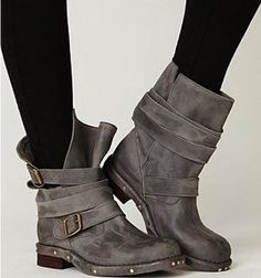 Jeffrey Campbell  Brit Boot at Free People Clothing Boutique $248