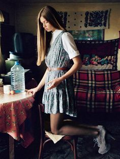 tim barber Tim Barber, Urban Outfitters, Autumn Fashion, Short Sleeve Dresses, Summer Dresses, Fall Fashions, Sweaters, How To Wear, Photography