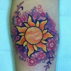 Tangled tattoo