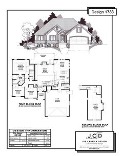 Great layout. Not too big or small. with a basement it would be just right. Although I would put an island to replace the L-shaped counter and move the sink next to the pantry. I would also add 11 feet to the right side to make it a 3 car garage and it would also allow for a bigger laundry room (with a pocket door) and a bigger kitchen. http://www.jc-design.com/plan-search.html