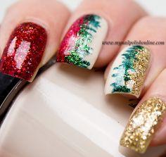 Christmas Nail Art - My Nail Polish Online