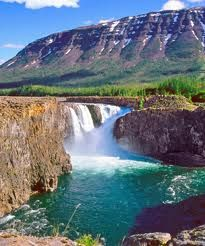 Kutamarakam waterfall, Siberia