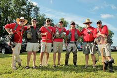 Red Team at the Mossy Creek Invitational 2012
