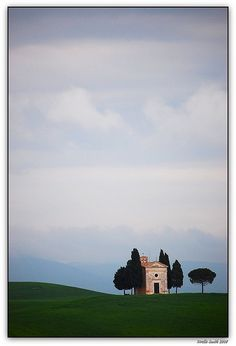 Cappella di Vitaleta, Toscana, Italy by beesquare, via Flickr