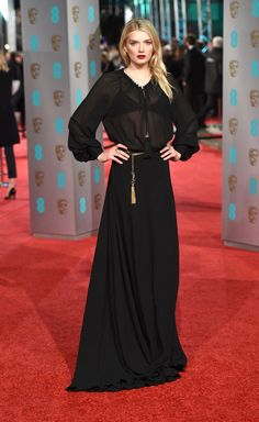 The British Academy of Film and Television Arts (BAFTA) had its awards ceremony on Sunday, complete with its own red carpet (of course).
