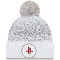 new product 7bf13 5ad08 ... order houston rockets new era on court cuffed knit hat with pom white  29.99 b4a96 f098b