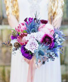 195 best Purple and Blue Wedding Colors images on Pinterest | Blue ...