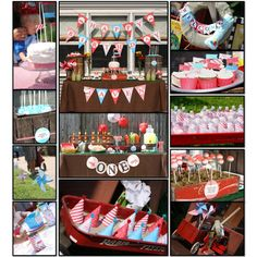 DIY party printables using Creative Memories SBC 4.0 software program. I created custom banners, party hats, water bottle labels, food labels, pinwheels, craft can wrappers, and cupcake wrappers with this awesome program.