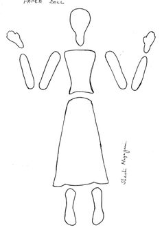 The 136 best ART DOLL TEMPLATES images on Pinterest