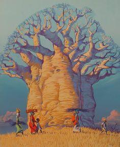 baobab dibujo - Buscar con Google