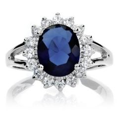 Princess Diana Ring: Diana and and Kate Middleton's Blue Sapphire Engagement Ring Kate Middleton Ring, Kate Middleton Engagement Ring, Princess Diana Engagement Ring, Royal Engagement Rings, Most Popular Engagement Rings, Engagement Ring Styles, Wedding Rings, Middleton Wedding, Engagement Jewelry