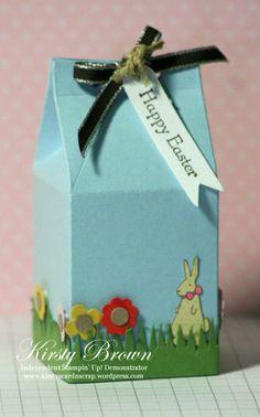 Easter Milk Carton