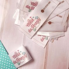 Mode Turban, Fabric Labels, Small Business Marketing, Fashion Details, Notebook, Laser, Logos, Sewing, Baby Room