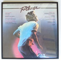 Lp Album Covers | Footloose Soundtrack Framed Vinyl Record Album Cover