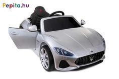 Baby Maxi szuper vagány járgány, amely a Maserati GL S302 autót valósítja meg gyerkőc változatban! Masszív, strapabíró, így használata igen időtálló, továbbá kiváló felszereltséggel rendelkezik mind a kényelem, mind a biztonság tekintetében. A 12V teljesítményű akkumulátor akár 2 órányi száguldozást is lehetővé tesz. Gyerkőcöd egyedül is vezetheti, azonban amennyiben úgy érzed, hogy még segítségre van szüksége, abban az esetben a távirányító segítésével te is irányítani tudod a járgányt… Maserati, Minion, Vehicles, Car, Products, Automobile, Minions, Autos, Cars