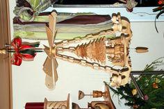 Deckenpyramide, geschnitzt Turning, Wood Carvings, Hobbies, Crafts, Crafting