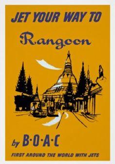 Rangoon - BOAC