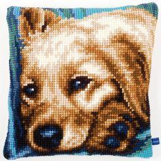 Cute Dog - Kruissteekkussen - Vervaco