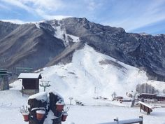 La prima nevicata a Recoaro Mille