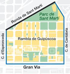 Unless you had been told, you probably wouldn't know that Sant Martí de Provençals is the historic centre of the old municipality and one of the most important towns on the Barcelona plain.