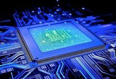 микросхема, чип, Плата, дорожки