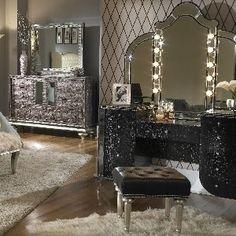 bedroom vanity bedroom vanities bedroom bobs discount furniture annapolis brown wood vanity set wdrawer shelf the classy home bling game vanity desk - Bedroom Vanity With Lights