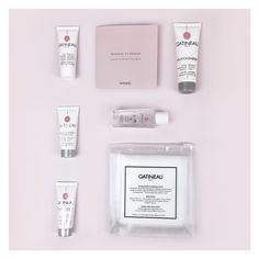 Radiance Enhancing Gommage, Anti-Wrinkle Radiance Mask, Advanced Rejuvenating Cream, Gentle Eye Make-up Remover, Double Sided Cleansing Cloth and Refreshing Cleansing Cream