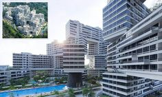 'Vertical village' in Singapore could spell the end for tower blocks