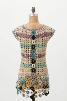 Crocheted Eden Tunic...