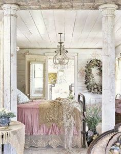 Beautiful shabby chic home! Perfect for a farmhouse out in the country  or even if you live in the city\/burbs to give you your own country getaway when you go home. Best of both worlds! That would be my ideal home. Located right outside of the city with a secluded country feel.