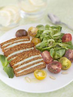 Millefeuille de pain d'épices au roquefort - Recette de cuisine Marmiton : une recette