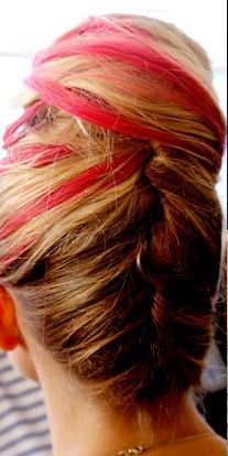 NYFW - Crazy Colored Hair - Oscar de la Renta