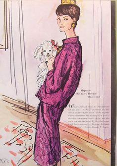 Illustration - Vogue, 1960