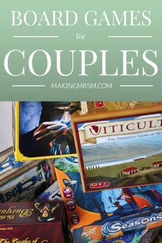 Board Games can be hard to find for just two players. These board games are 2+ player approved. Grab one of these and have a game night with your spouse.Perfect for Valentine's Day!